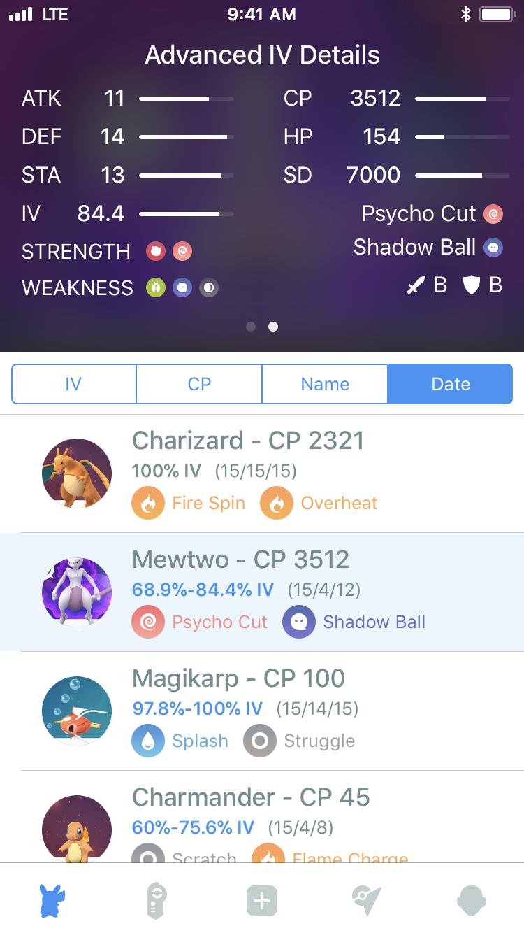 Surenix - Pocketdex for Pokémon Go